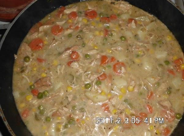 Creamy Chicken Veggie Stew Recipe