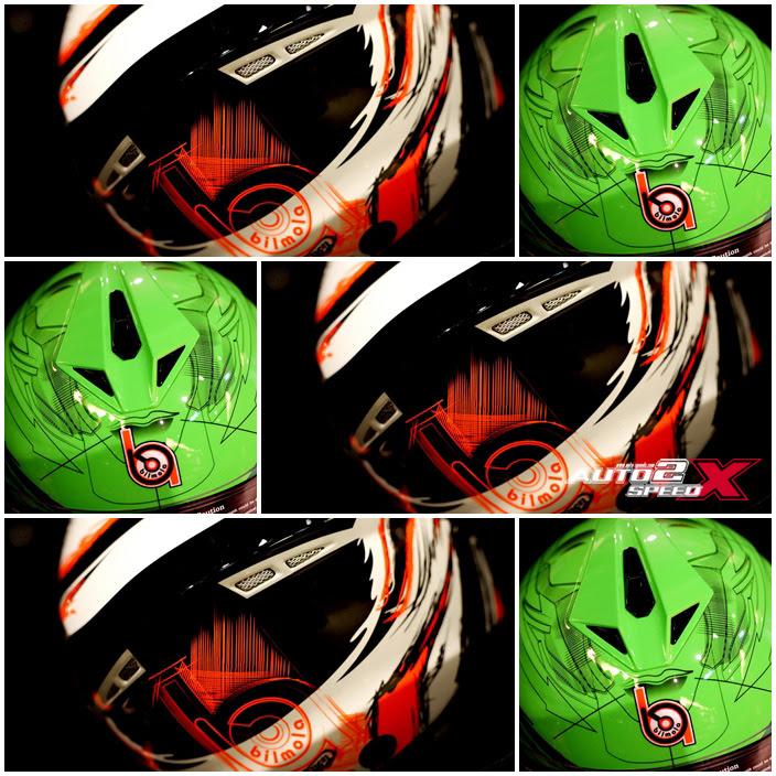 หมวกกันน็อค Bilmola Defender ลาย Sketcher 2015