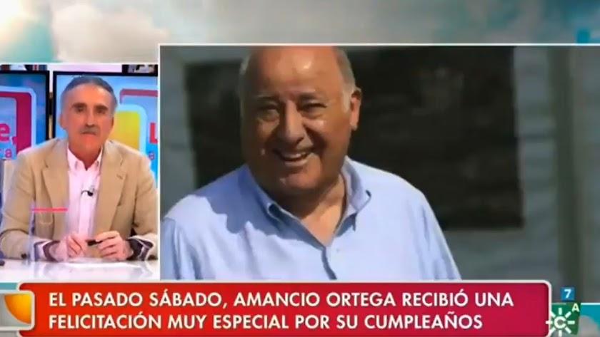 Juan y Medio ha defendido a Amancio Ortega desde su programa en Canal Sur.