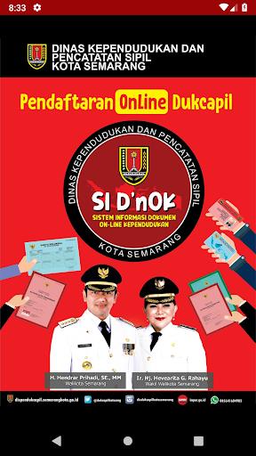 SI D'nOK - Dukcapil Kota Semarang 1.0 screenshots 1