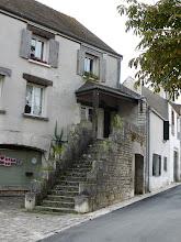 Photo: Un bel escalier à Château-Landon