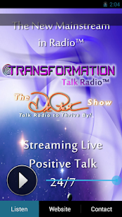 Transformation Talk Radio Live- screenshot thumbnail