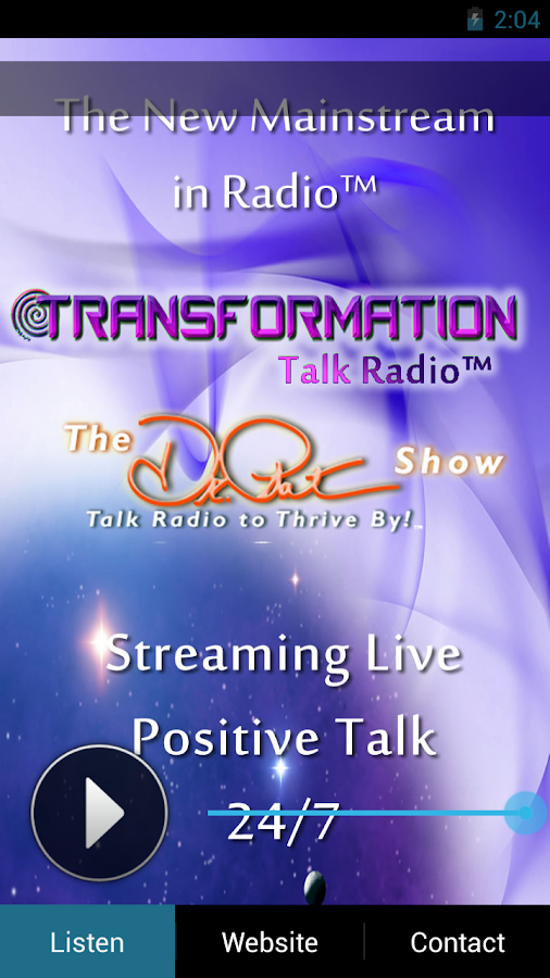 Transformation Talk Radio Live- screenshot