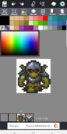 (Free) Dot Maker - Pixel Art Painter, Game Design screenshot 3