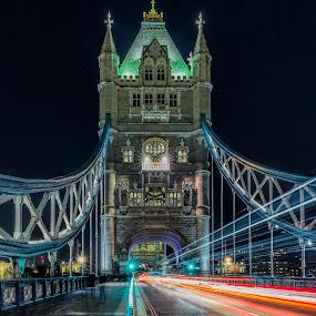 tower bridge by Chris Williams - Buildings & Architecture Bridges & Suspended Structures
