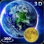 App 3D Earth && Moon Live Wallpaper 3D Parallax Theme APK for Windows Phone