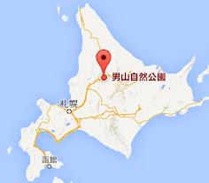 地図・男山自然公園