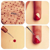 Nail art tutorial step by step