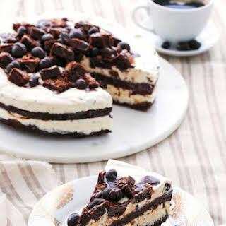 Fudge Brownie Mudslide Ice Cream Cake.