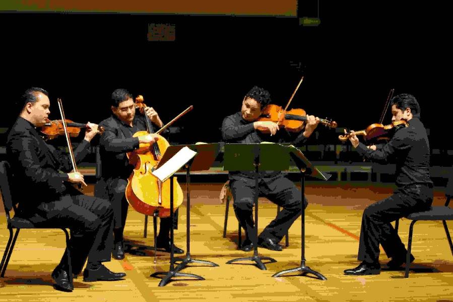 El Cuarteto de Cuerdas Simón Bolívar participó en una jornada de reflexión en torno a la obra de Beethoven. En el intermedio, ofreció un recital en el que interpretó el Cuarteto de Cuerdas N° 10, Op. 74,  en el Auditorio Hertz de la Universidad de California, en Berkeley.