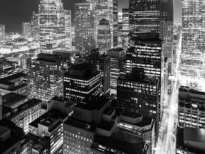 Photo: Black on White  I've been struggling massively lately keeping up with my daily blog. I keep going through archives looking at my photos; nothing is good enough. Nothing is good.  I don't want to post anymore generic shots of decaying Detroit buildings or Toronto skylines, but I have no choice. Maybe I will feel different tomorrow.  #toronto #rooftopping #blackandwhite #skyline #urbex #urbanexploration