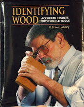 Photo: Important book for wood identification by Bruce Hoadley.