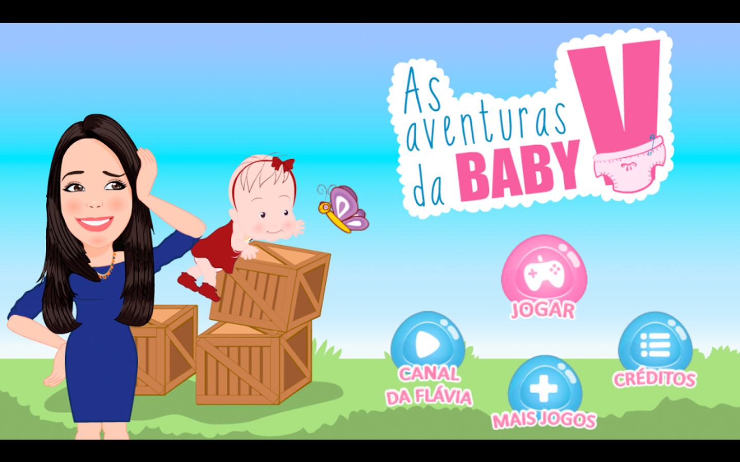 As aventuras da Baby V- screenshot