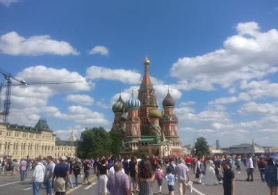 Walfoot en Russie - 6 : Moscou vibre à l'internationale