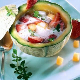 Fruity Melon Soup.