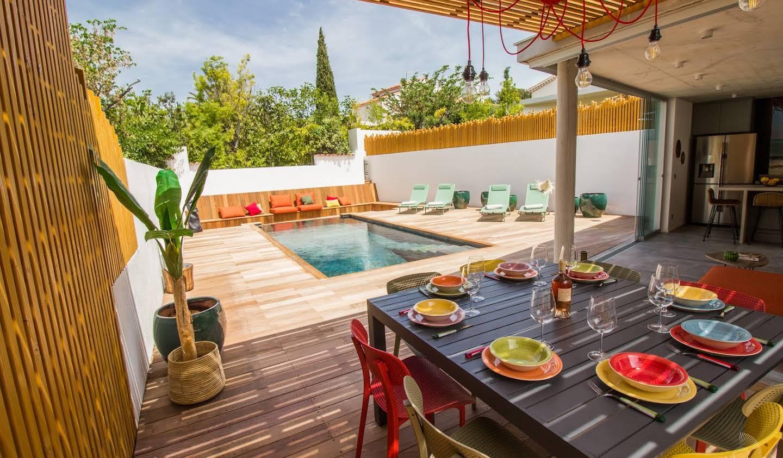 Villa avec piscine et jardin Bandol