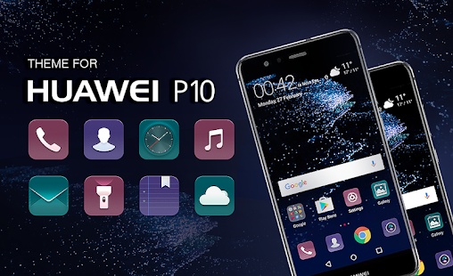 Theme for Huawei P10 Lite/P10 Plus - náhled