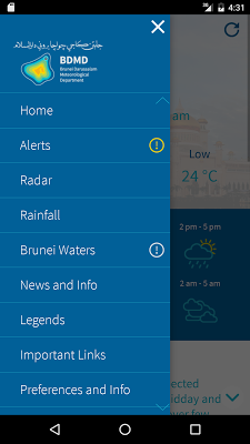Brunei WX - screenshot