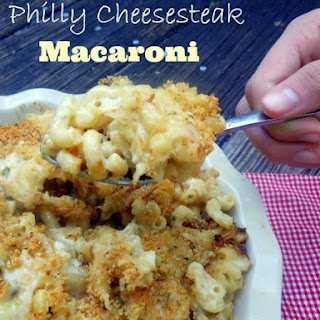 Philly Cheesesteak Macaroni