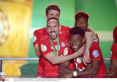 Franck Ribéry encensé par David Alaba