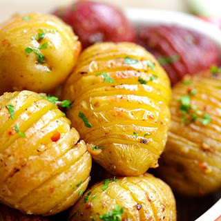 Garlic Roasted Potatoes Recipe