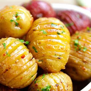 Garlic Roasted Potatoes.