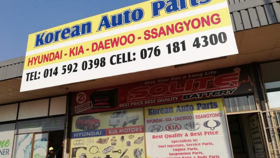 Korean Auto Parts Northwest - Auto Parts Store in Rustenburg CBD