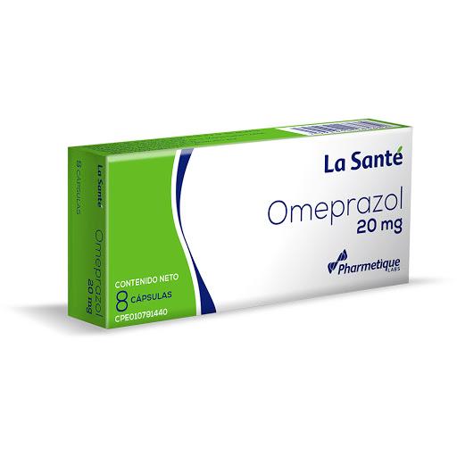 Omeprazol Elter 20 mg x 8 Cápsulas