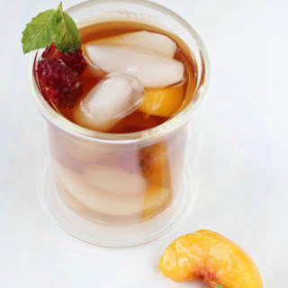 Perfect Raspberry Peach Tea.