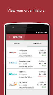 InstaPayBack Cashback & Coupon screenshot