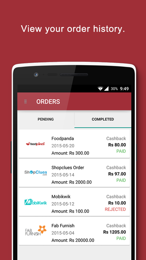 InstaPayBack Cashback & Coupon- screenshot