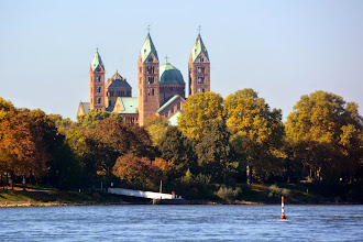 Photo: The Cathedral of Speyer.  Speyer was founded in 1024