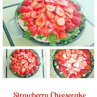 Strawberry Cheesecake Ice Cream Pie Recipe
