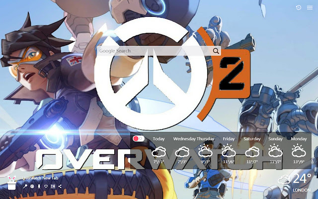 Overwatch New Tab, Wallpapers HD