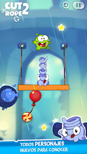 Cut the Rope 2 (MOD) APK 4