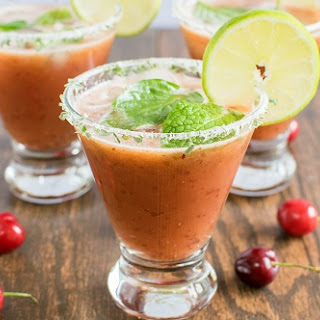 Watermelon Cherry Cooler