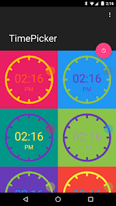 TimePicker screenshot 0