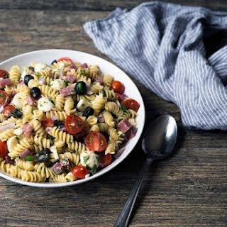 Easy to Make Italian Pasta Salad.