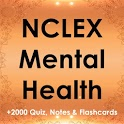 NCLEX Mental Health 2200 Quiz, Notes & Flashcards icon