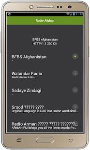 Rozhlas Afghánistán - náhled