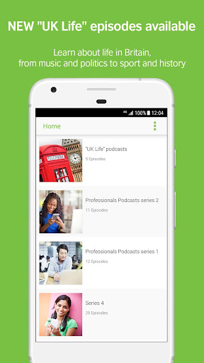 LearnEnglish Podcasts - Free English listening for Android apk 1