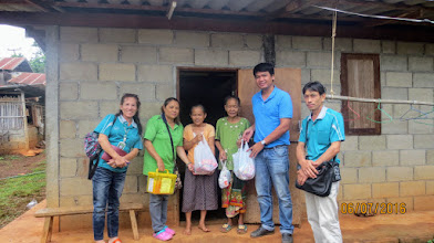 Photo: Gee and Healtcare workers at Lahu Vilage Kong Pag Ping