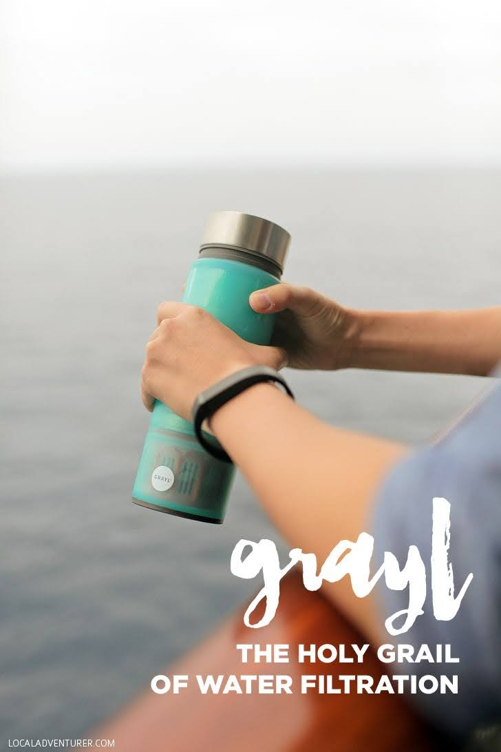Grayl - The Holy Grail of Water Filtration.