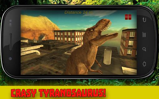 Dinosaur Rex Parkour 3D
