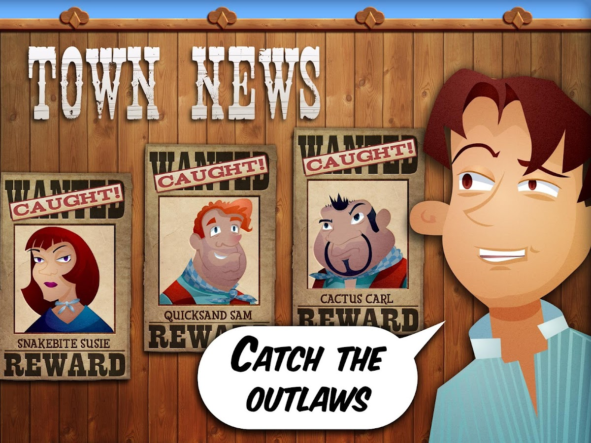 Mystery Word Town: Spelling- screenshot