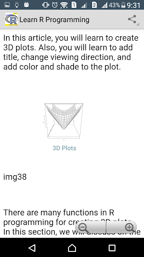 Learn R programming Pro - FULL screenshot 7