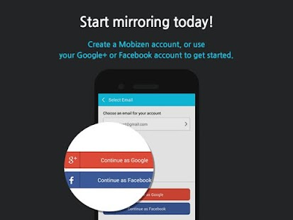 Mobizen Mirroring- screenshot thumbnail