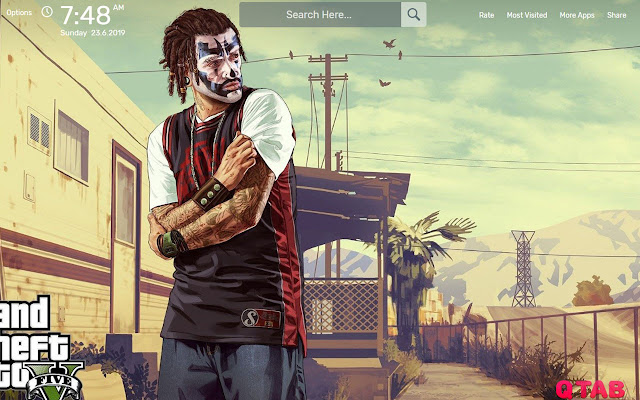 Gta 5 Game Wallpapers New Tab Theme