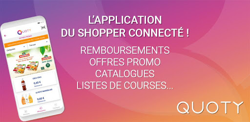 Quoty – Cashback, échantillon, réduction, cadeaux – Applications ...
