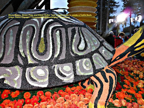 Photo: Pasadena Rose Parade 2013  The Nurse's Float Enjoy the Black Beans used in turtle